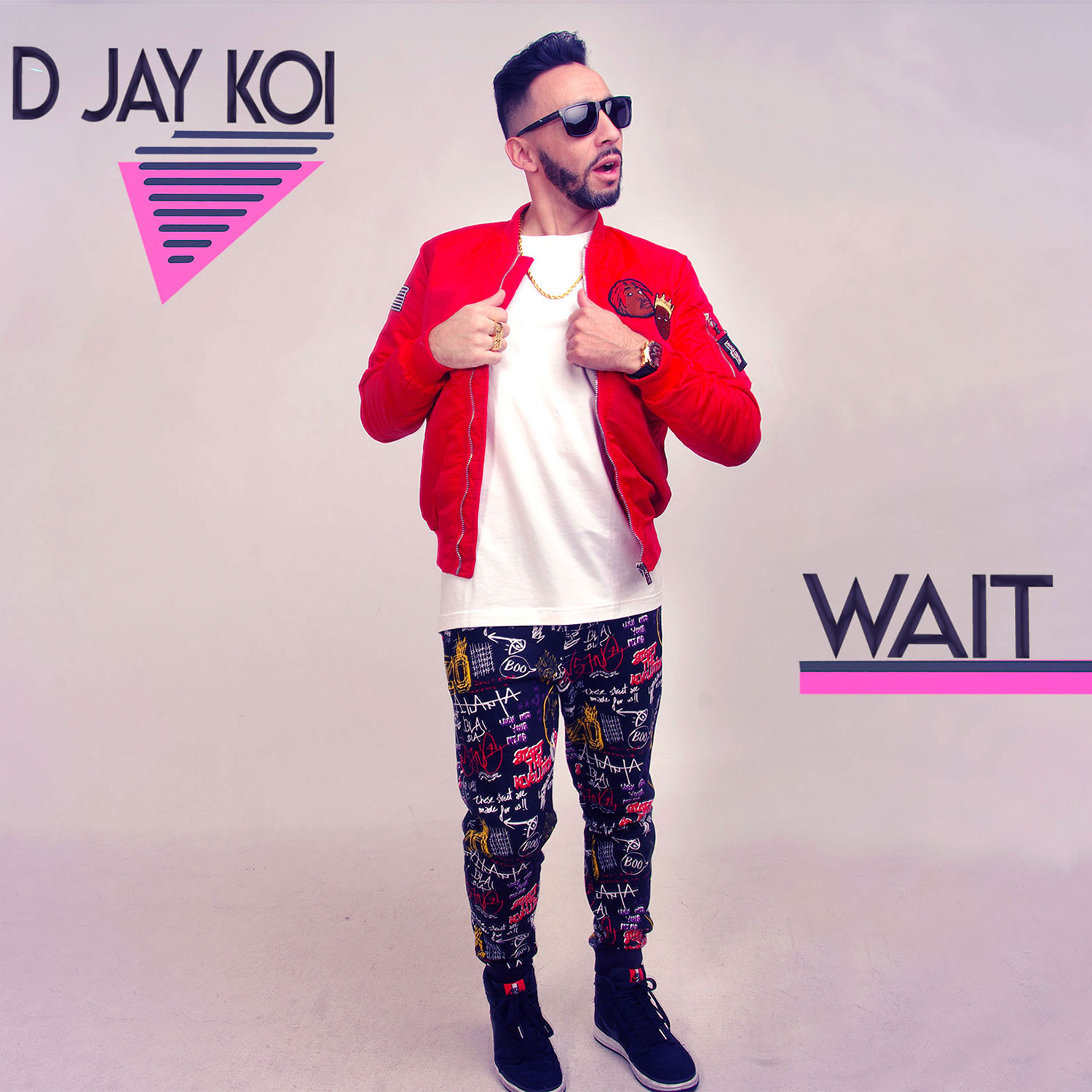 d jay koi Wait - Cover